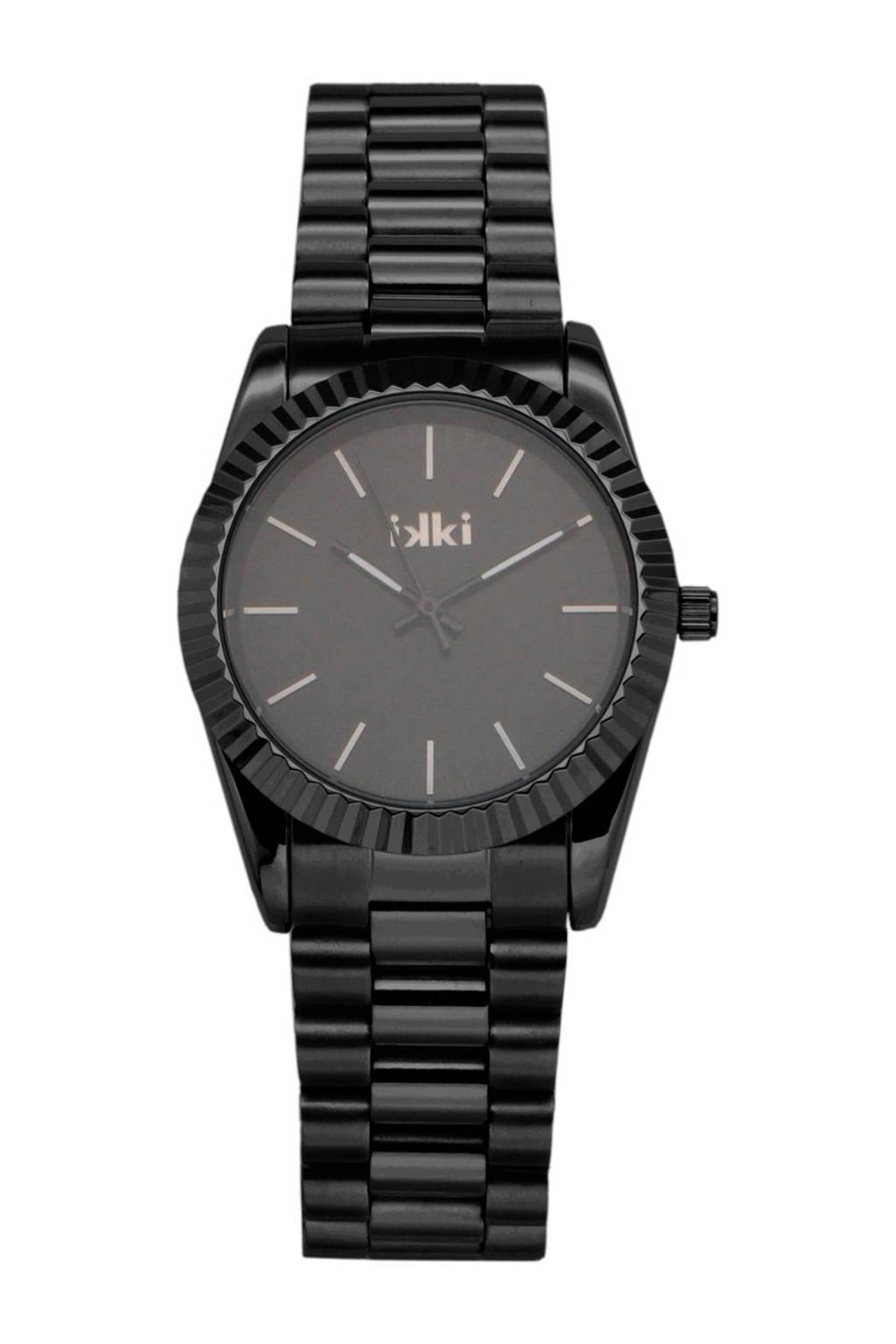 IKKI horloge - BX-04, Zwart