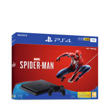 PlayStation 4 Slim 1TB zwart + Marvel's Spider-Man