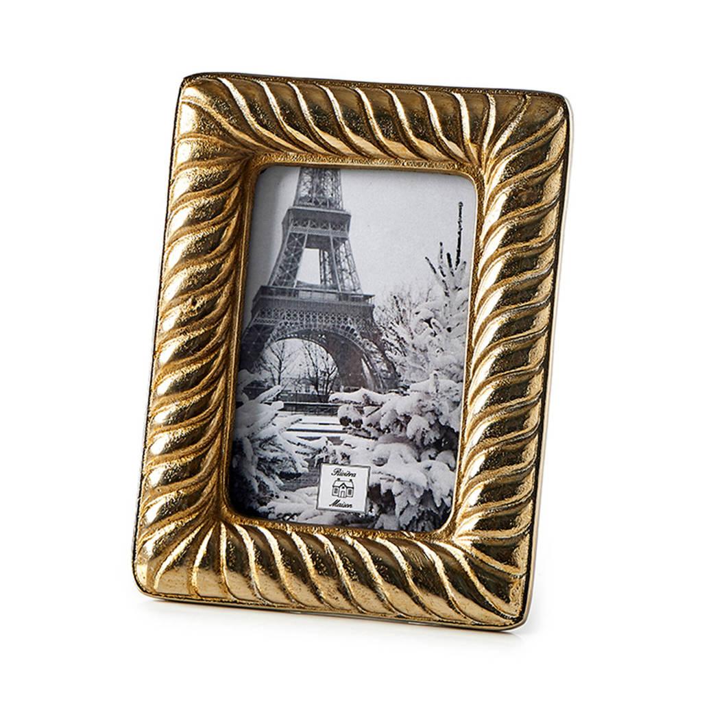 Riviera Maison fotolijst (21x16,5 cm), Goud
