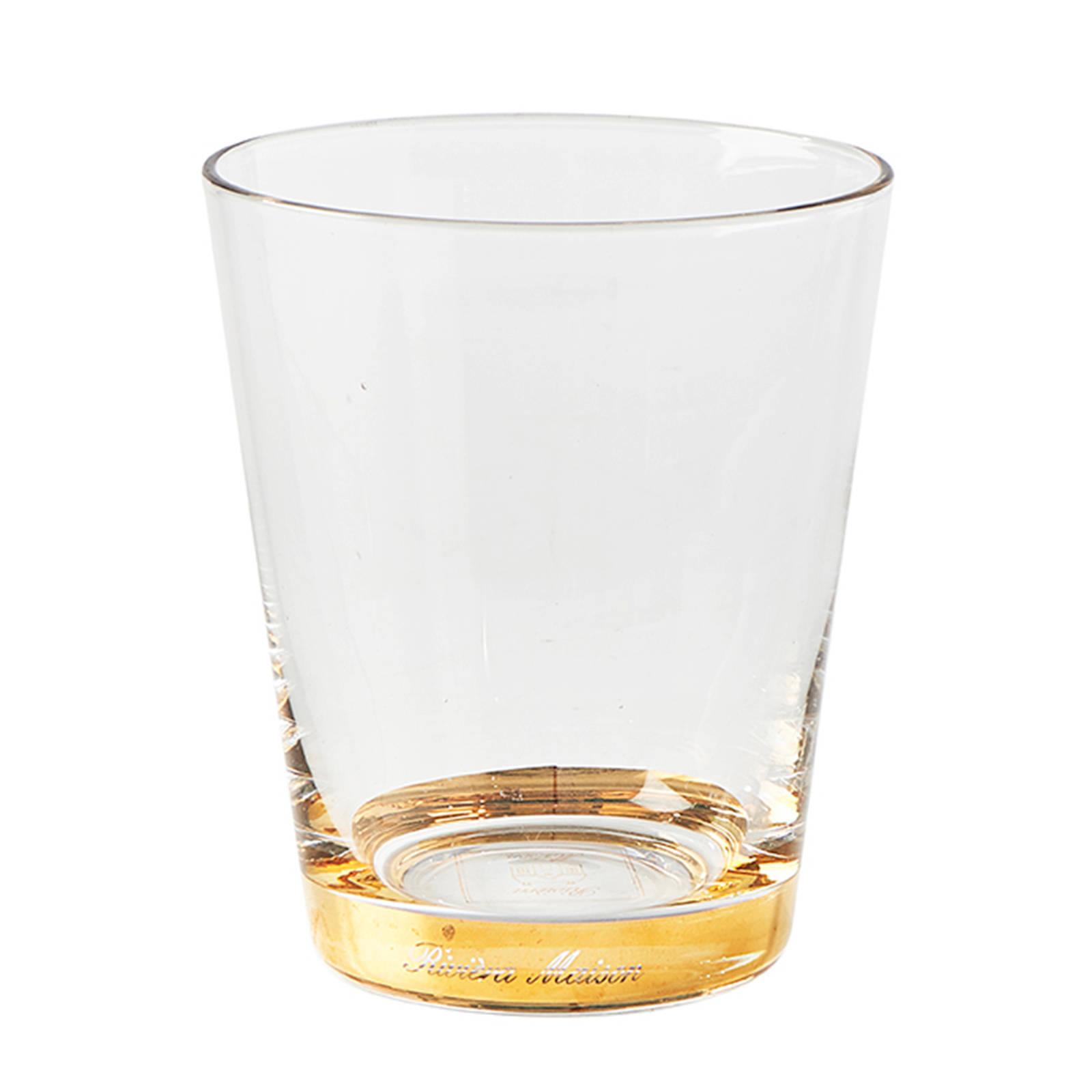 Riviera Maison Fifth Avenue waterglas (Ø8 cm)