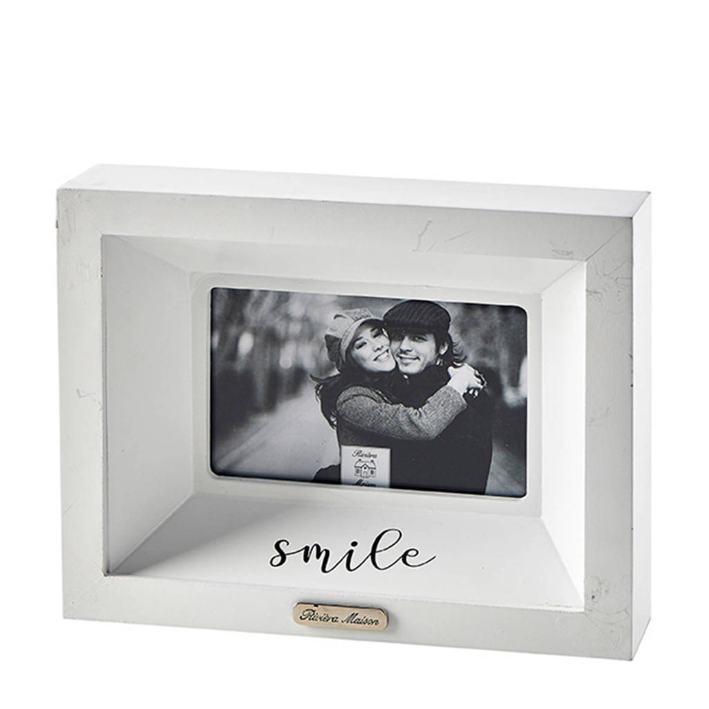 Riviera Maison fotolijst Smile (19,5x24,5), Transparant