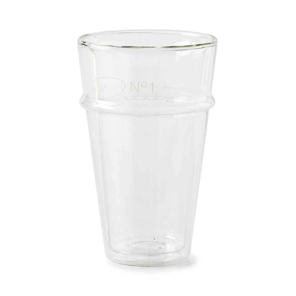 Riviera Maison No 1 Drinks longdrinkglas (Ø9 cm), Transparant
