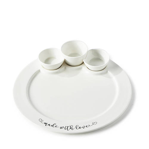 Riviera Maison Made With Love serveerbord (Ø29 cm) kopen