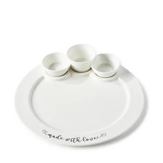 Made With Love serveerbord (Ø29 cm)
