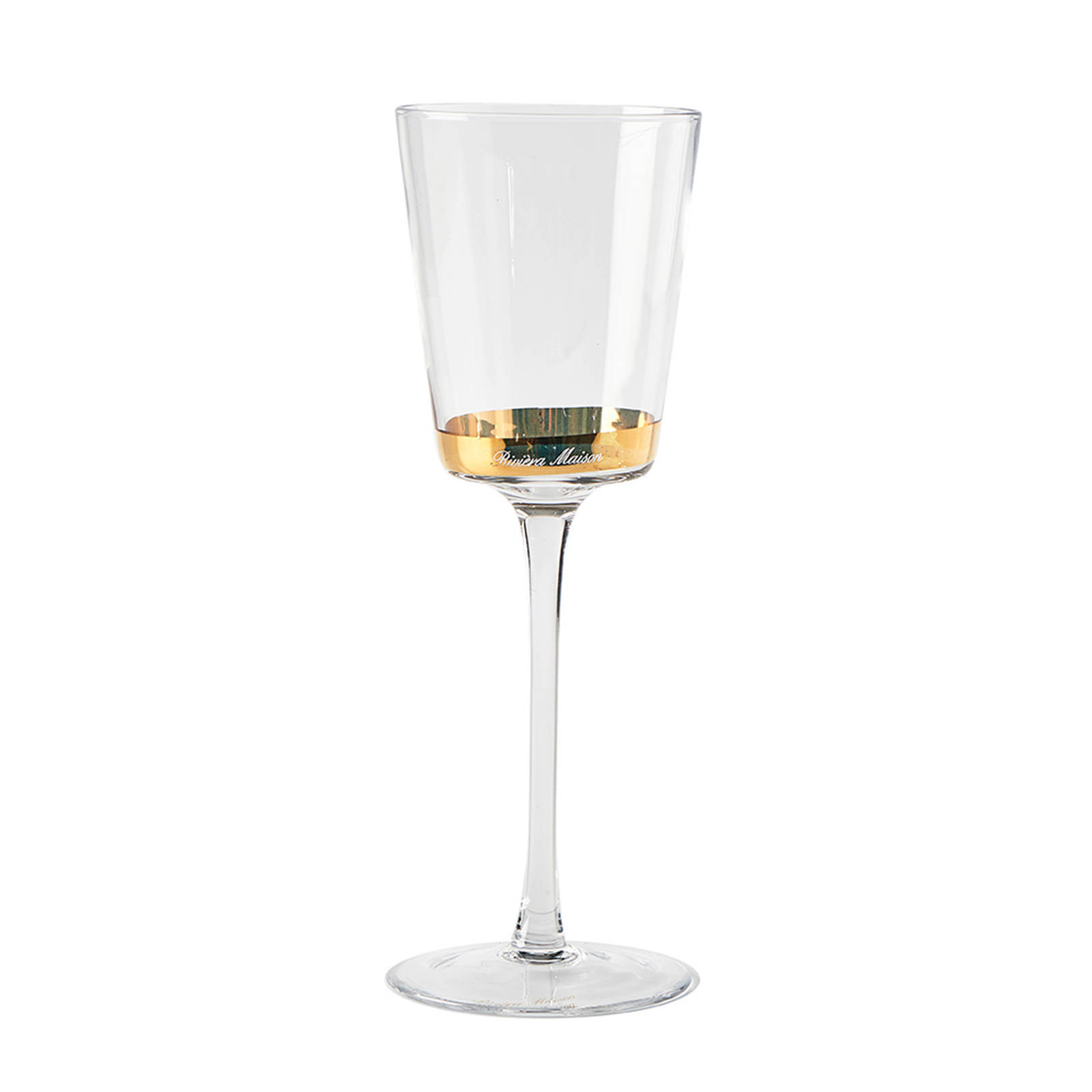 Riviera Maison Fifth Avenue wijnglas (Ø8 cm)