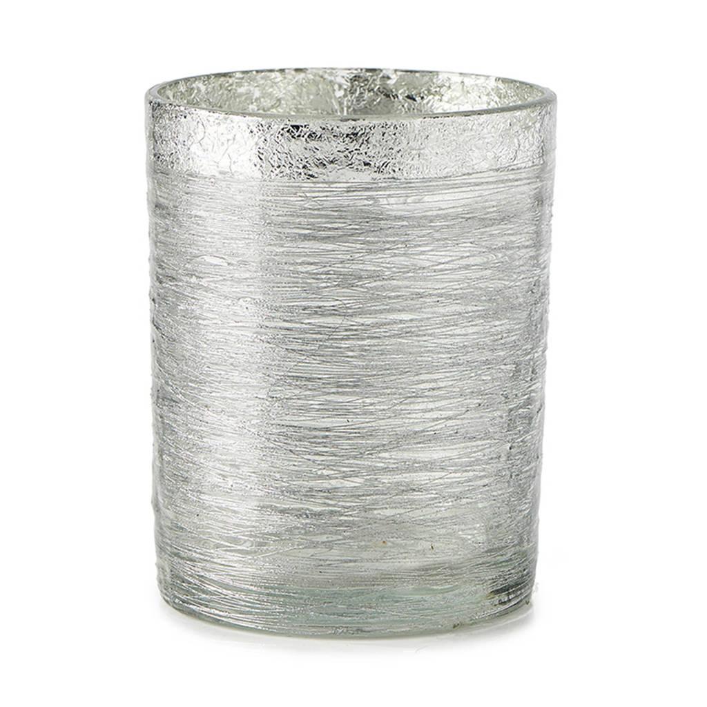 Riviera Maison waxinelichthouder Silver string (Ø10cm), 10 x 13