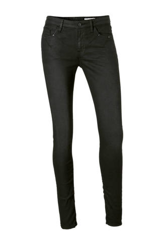 edc Women skinny fit jeans met coating