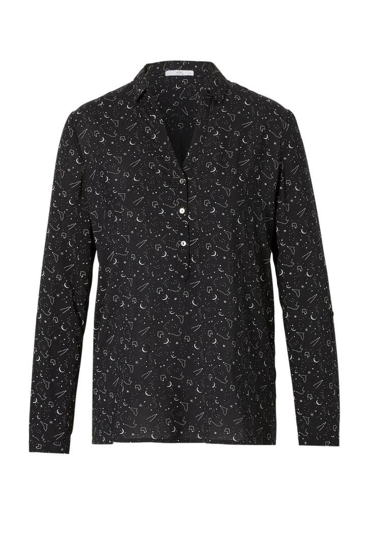 ESPRIT Women blouse edc over all met print BWrBzcF40