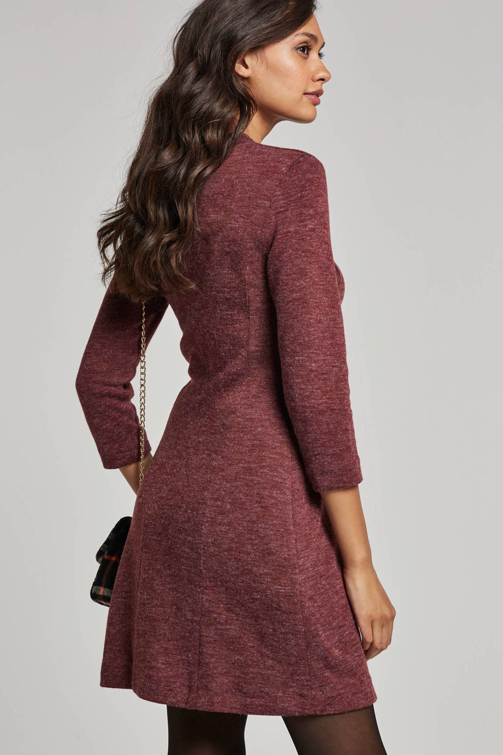 7c12f01270560c ESPRIT Women Casual gemêleerde jurk