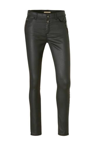 Women Casual skinny fit broek met coating
