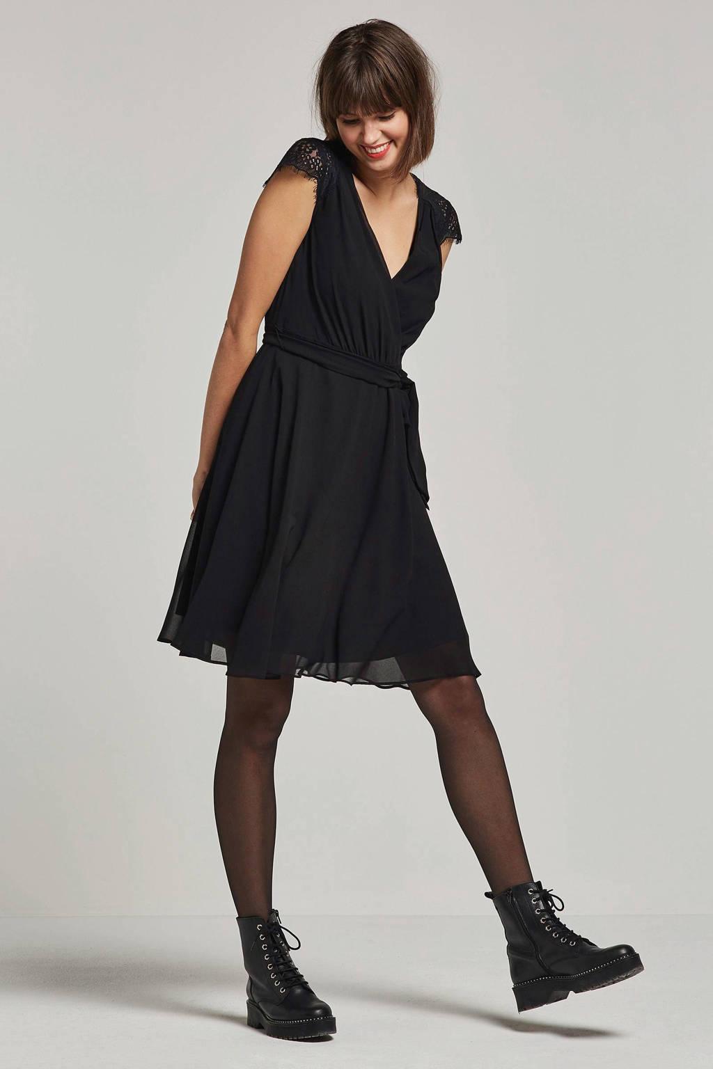 ESPRIT Women Collection kanten jurk, Zwart