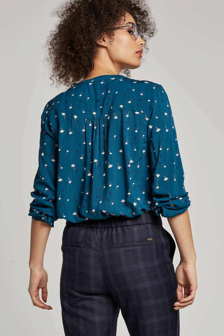 Casual ESPRIT bloemenprint blouse Women met qHzYHf