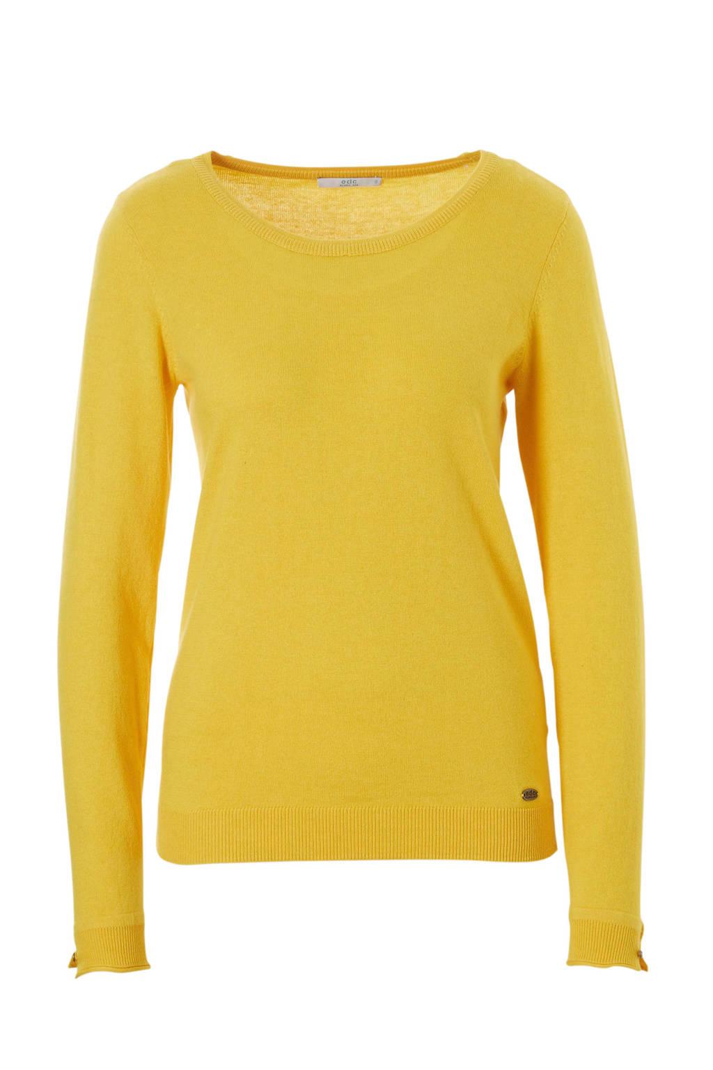 edc Women trui jersey, Geel