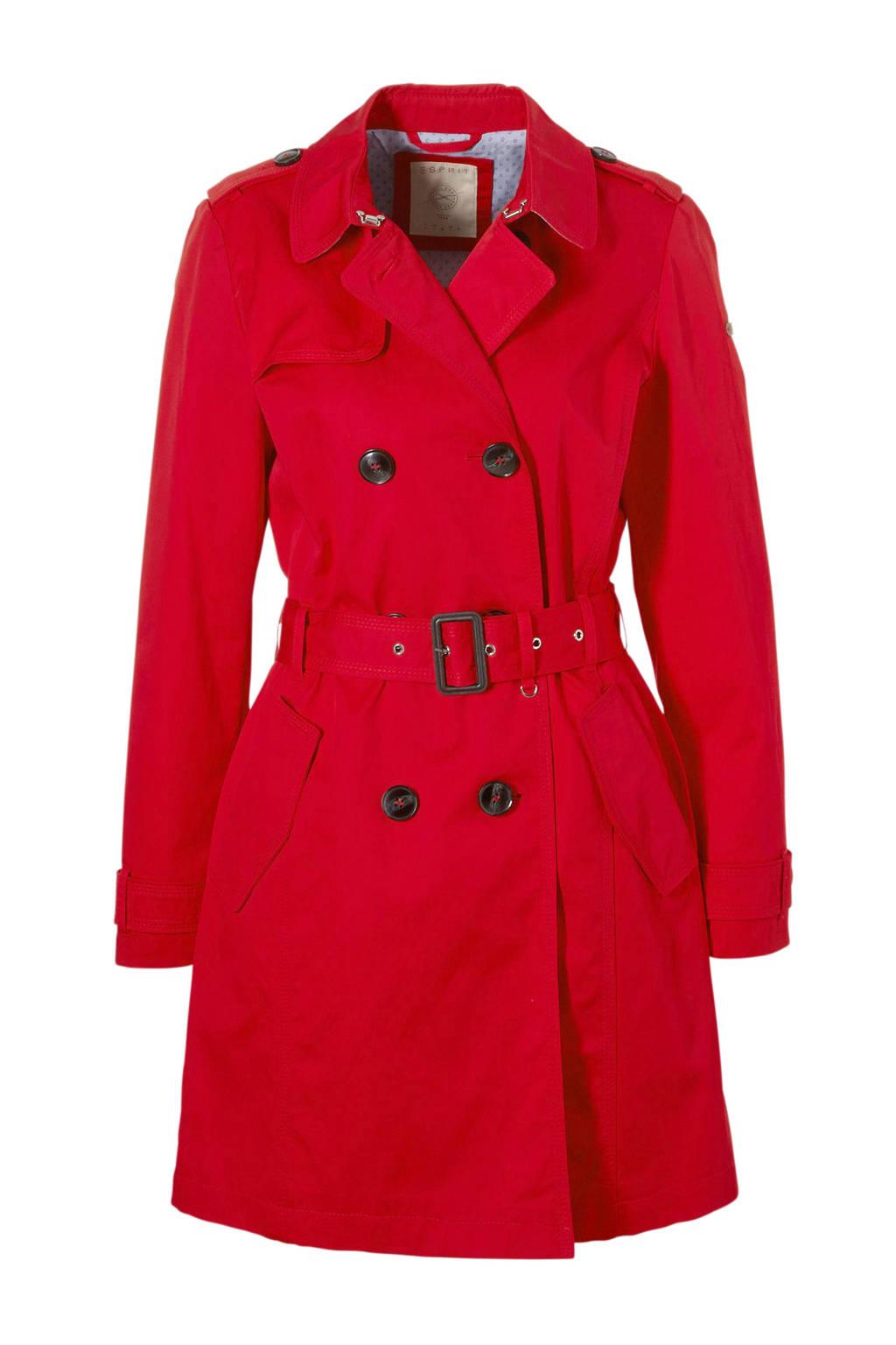 ESPRIT Women Casual trenchcoat rood, Rood
