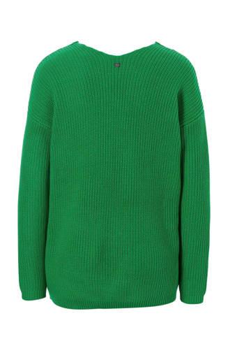 Women Casual trui groen