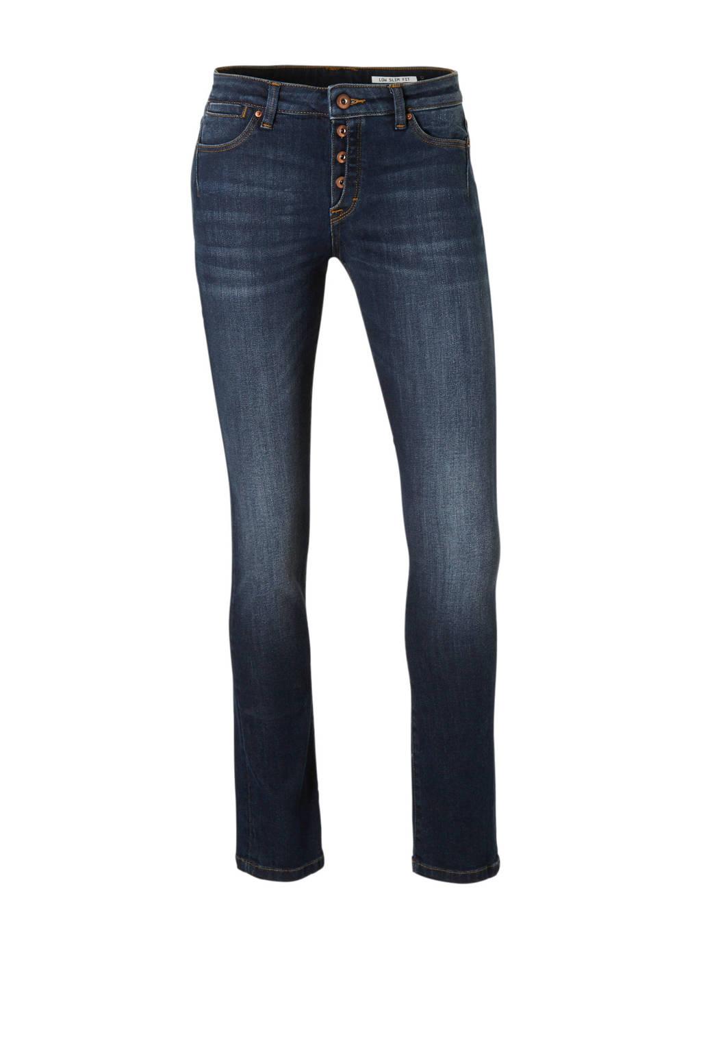 edc Women slim fit jeans, Donkerblauw