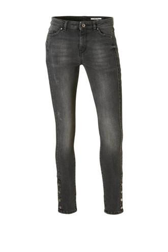 edc Women skinny jeans met knoop details