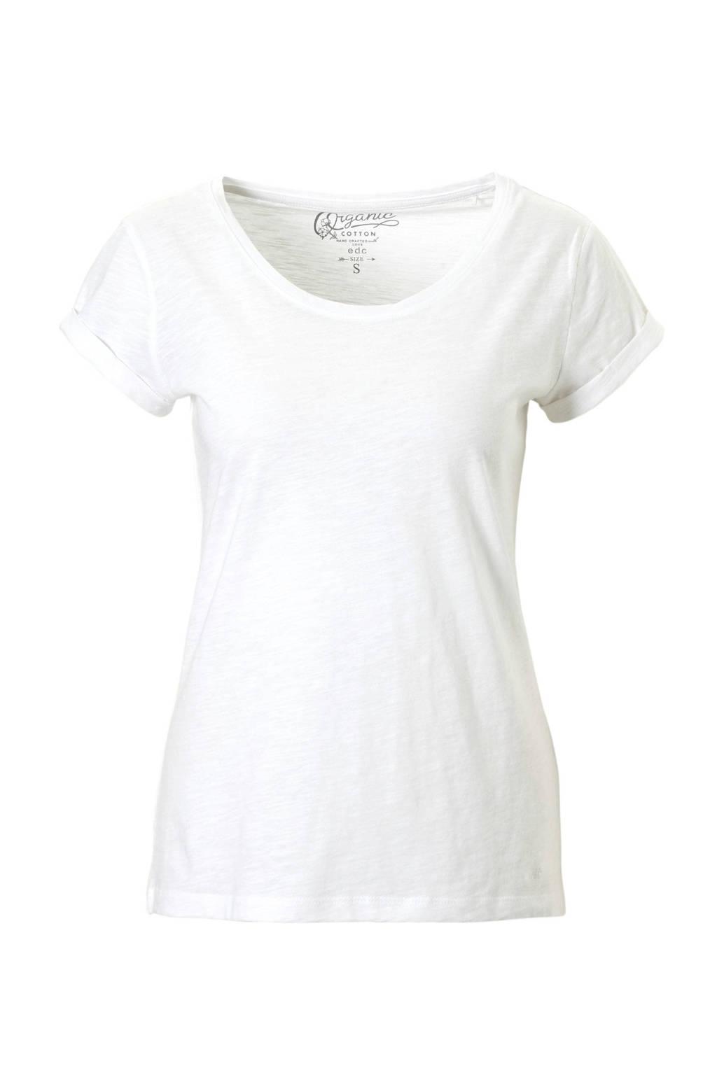 edc Women t-shirt, Wit