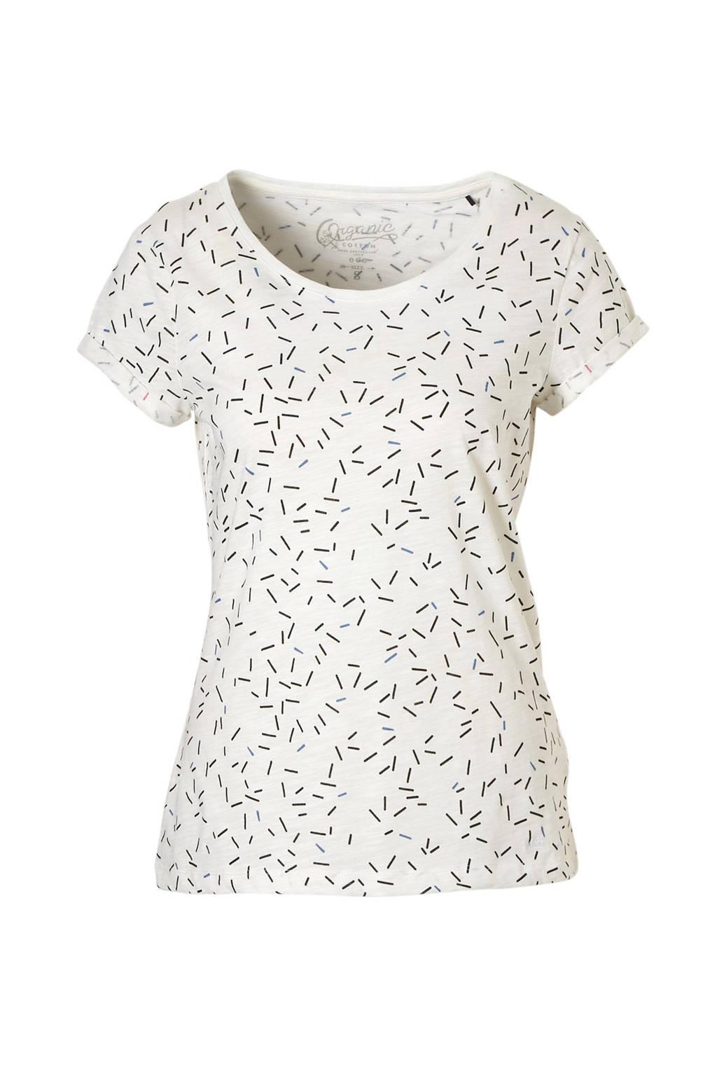 57327a10e21 ESPRIT edc Women t-shirt met all over print