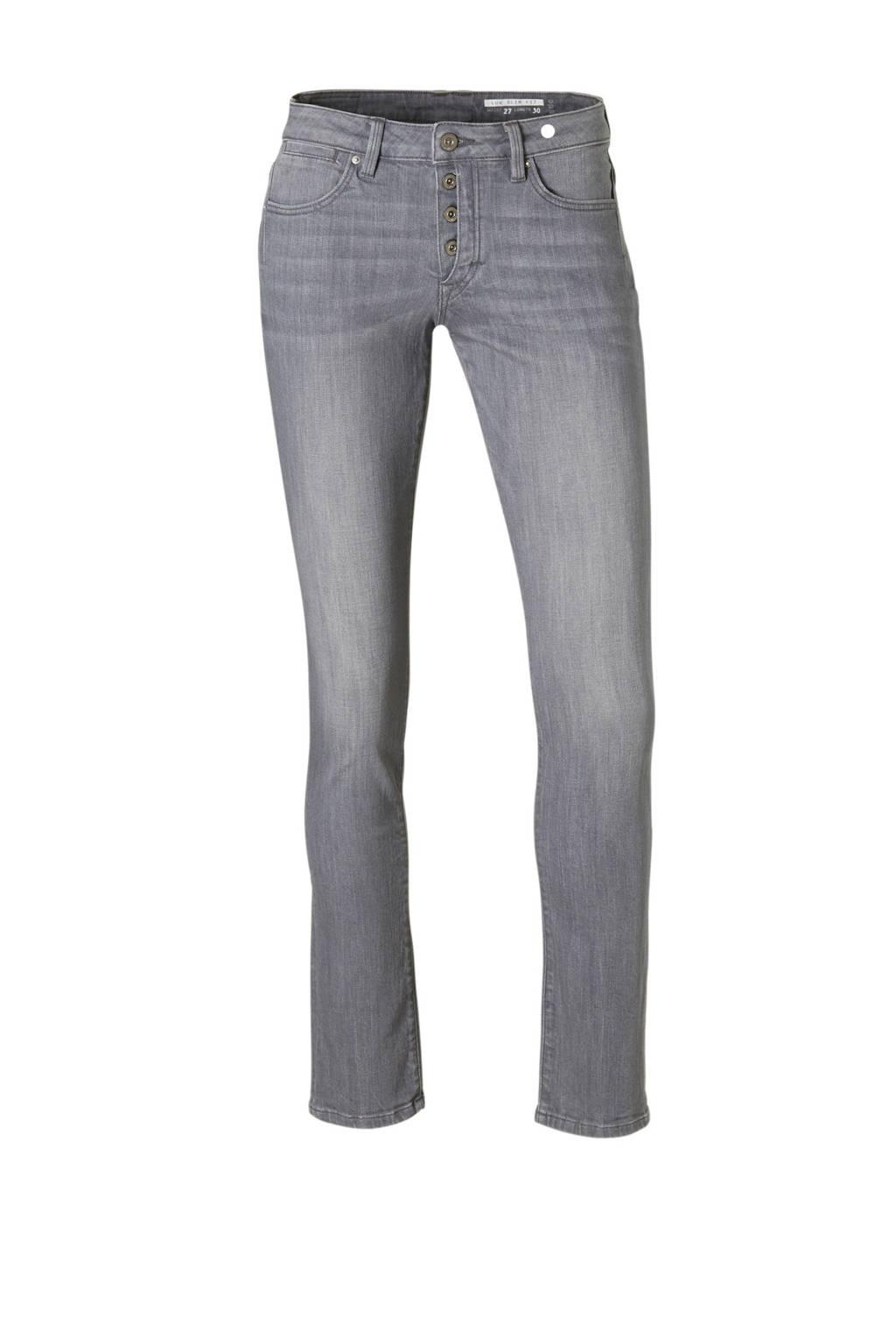 edc Women slim fit jeans, Grijs