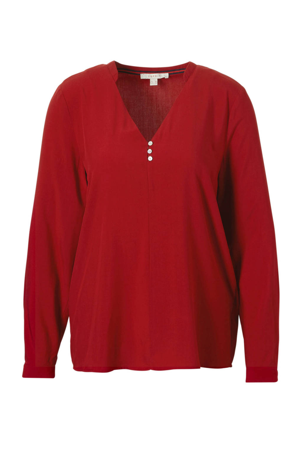 ESPRIT Women Casual blouse rood, Rood