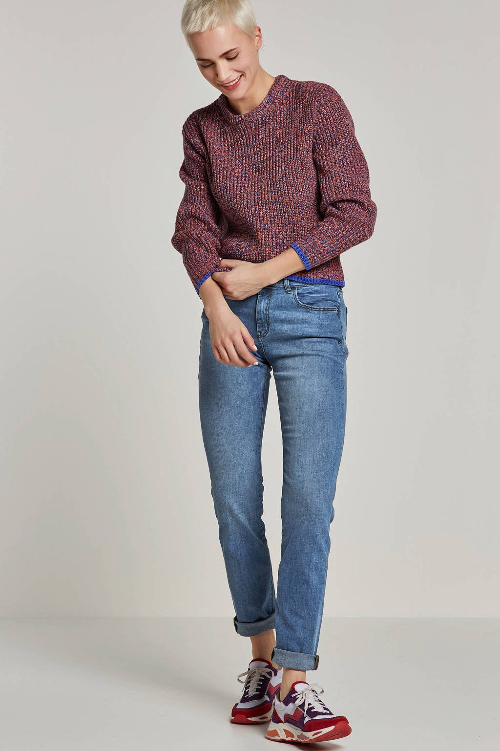 ESPRIT Women Casual straight fit jeans, Blauw