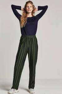 ESPRIT Women Casual trui met knoop details, Donkerblauw