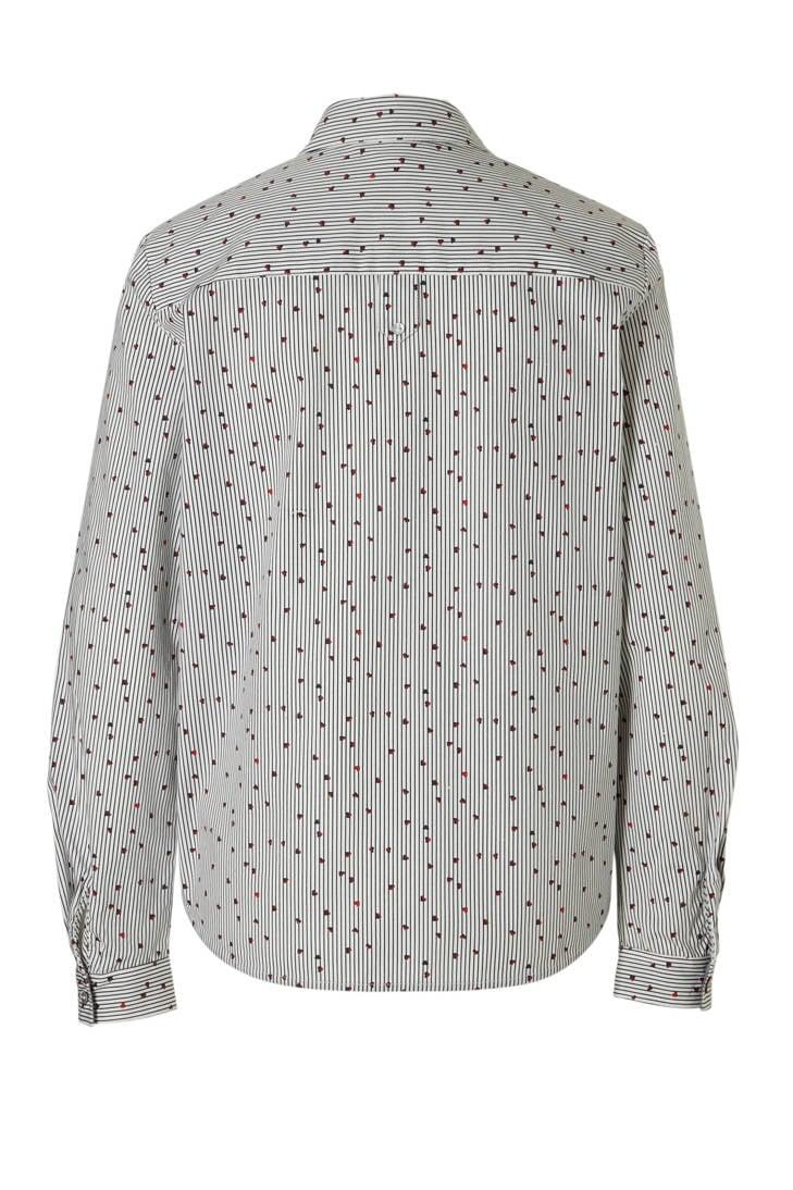 Women bloemenprint met gestreepte blouse ESPRIT Casual R4T4f