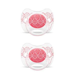 fopspeen Pink (2stuks) roze