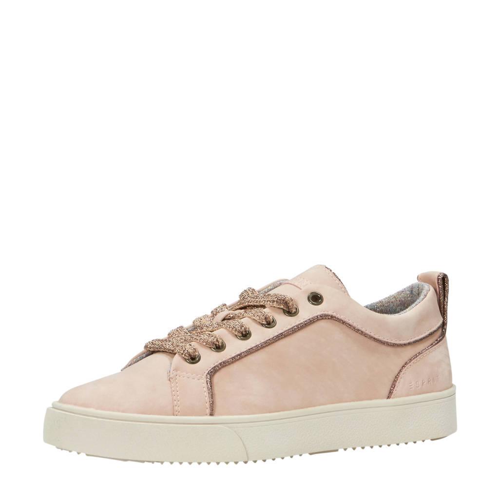 ESPRIT  sneakers met glitters oudroze, Oudroze