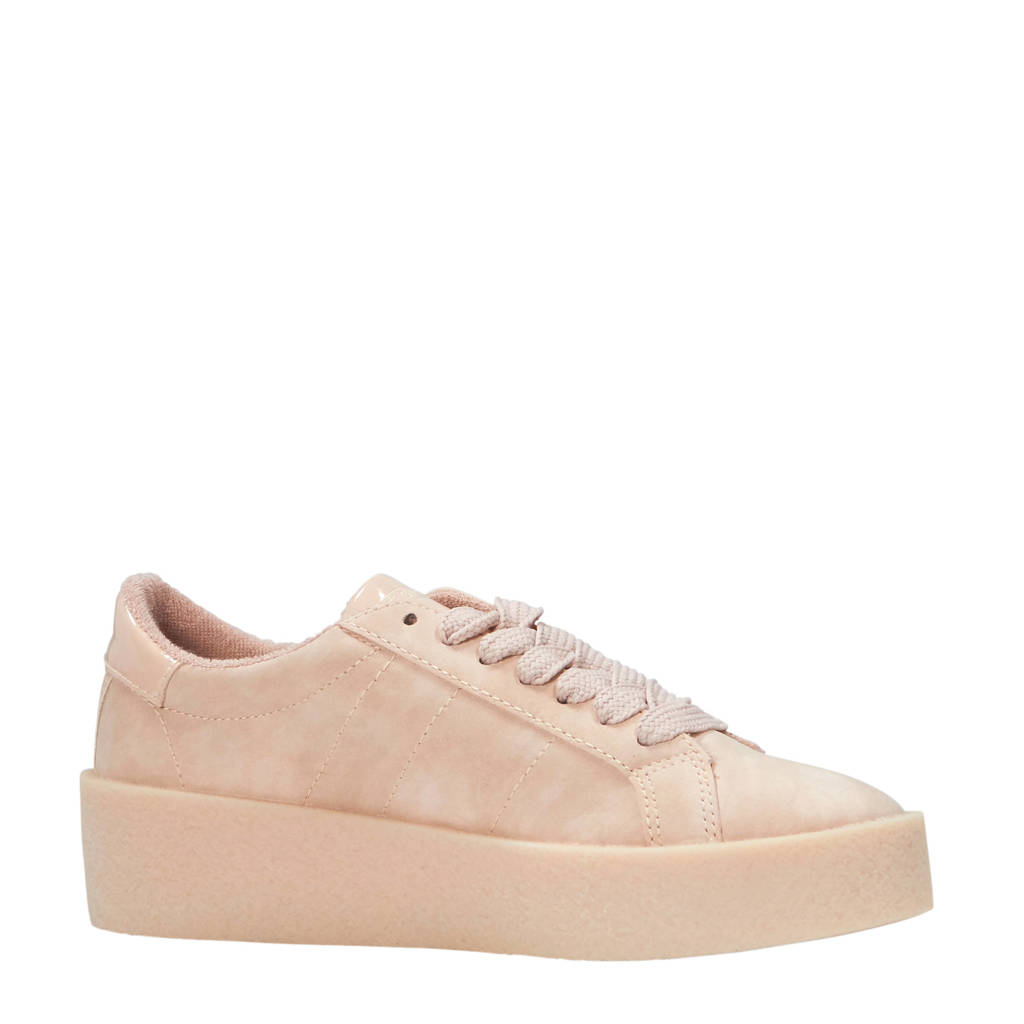 ESPRIT  sneakers met hoge zool oudroze, Oudroze