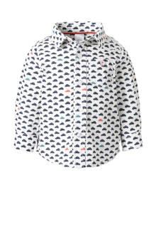 Baby Club overhemd met all over print