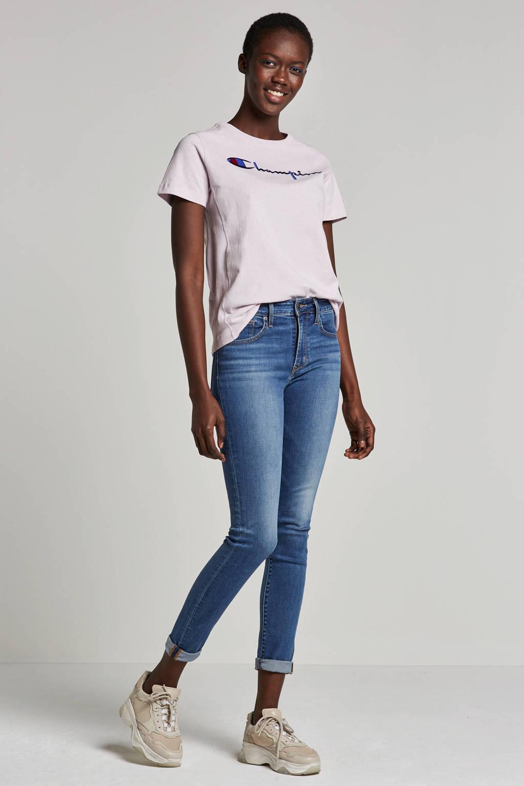 Levi's 721 high rise skinny jeans, Blauw