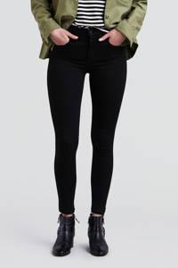 Levi's 720 high waist skinny jeans zwart, Zwart