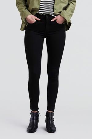 720 high waist skinny jeans zwart