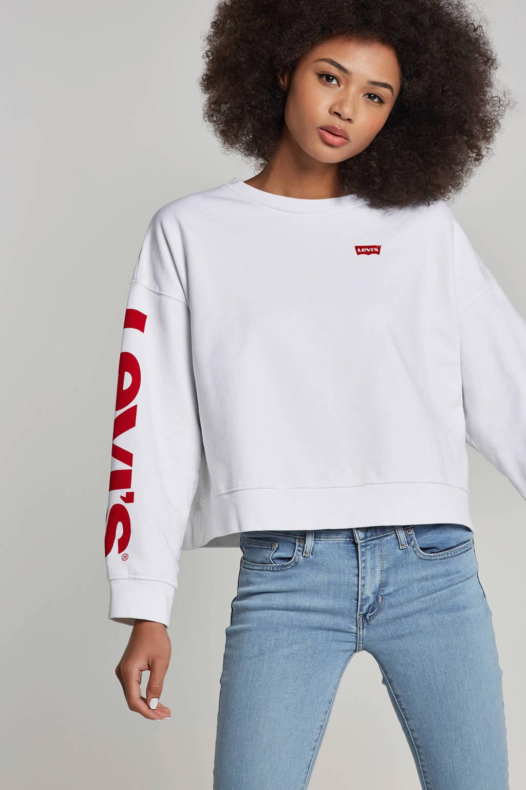 Levi's sweater, Wit