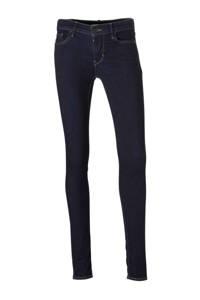 Levi's 701 Innovation super skinny jeans, Donkerblauw