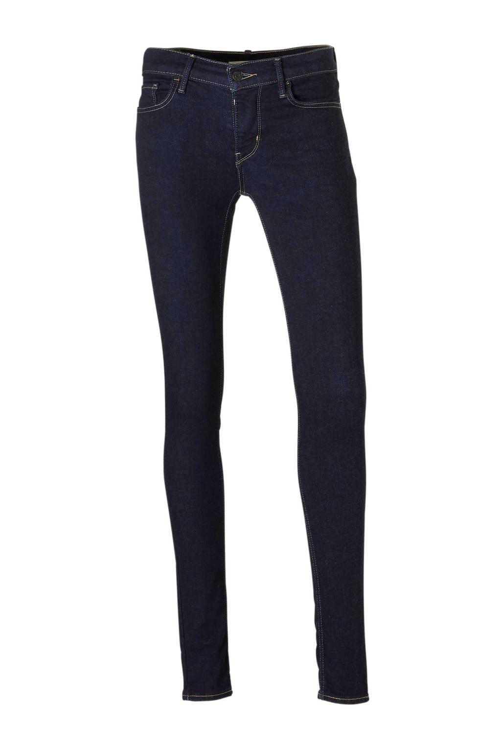 Levi's skinny jeans, Donkerblauw