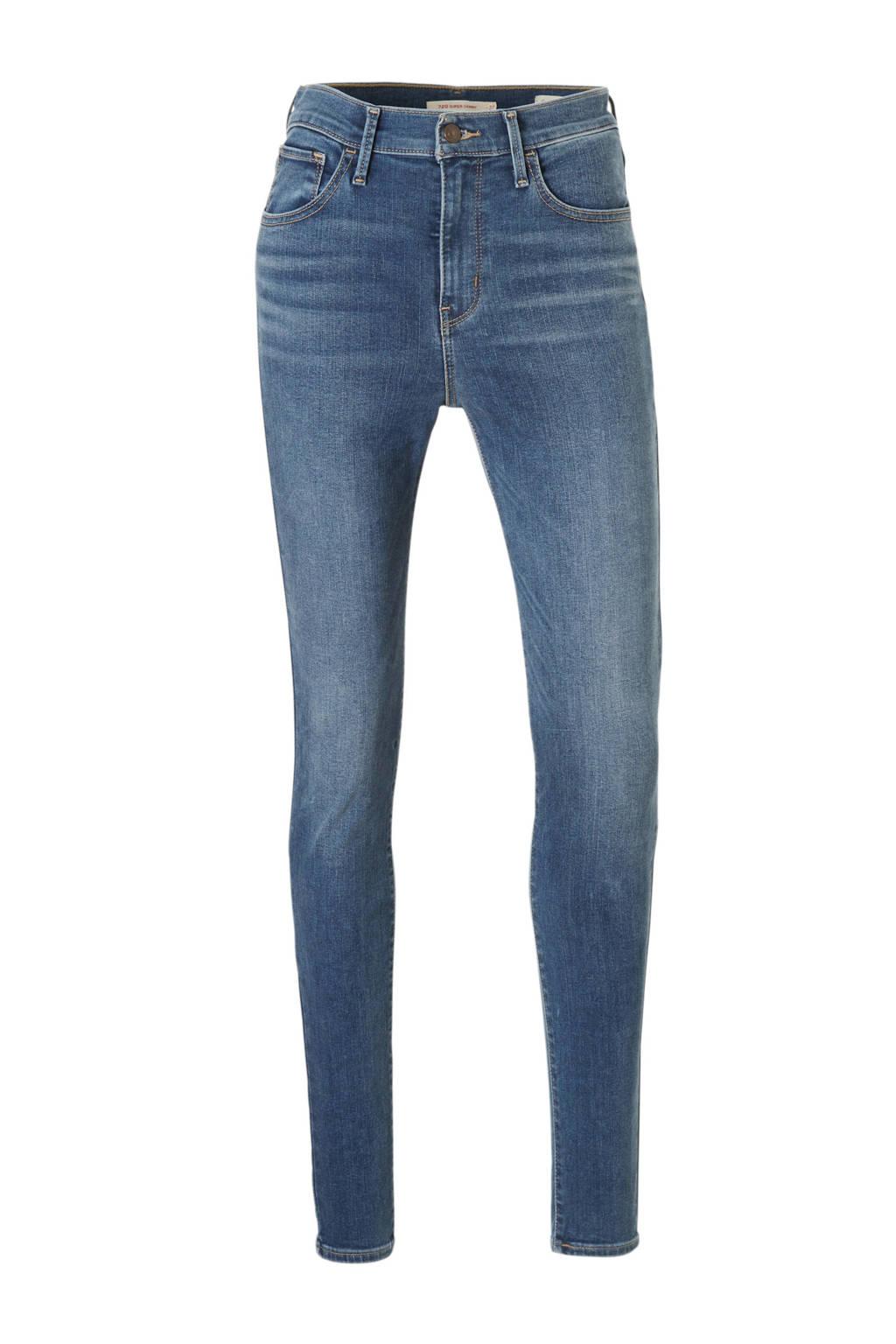 Levi's high waist skinny jeans ivy midblue