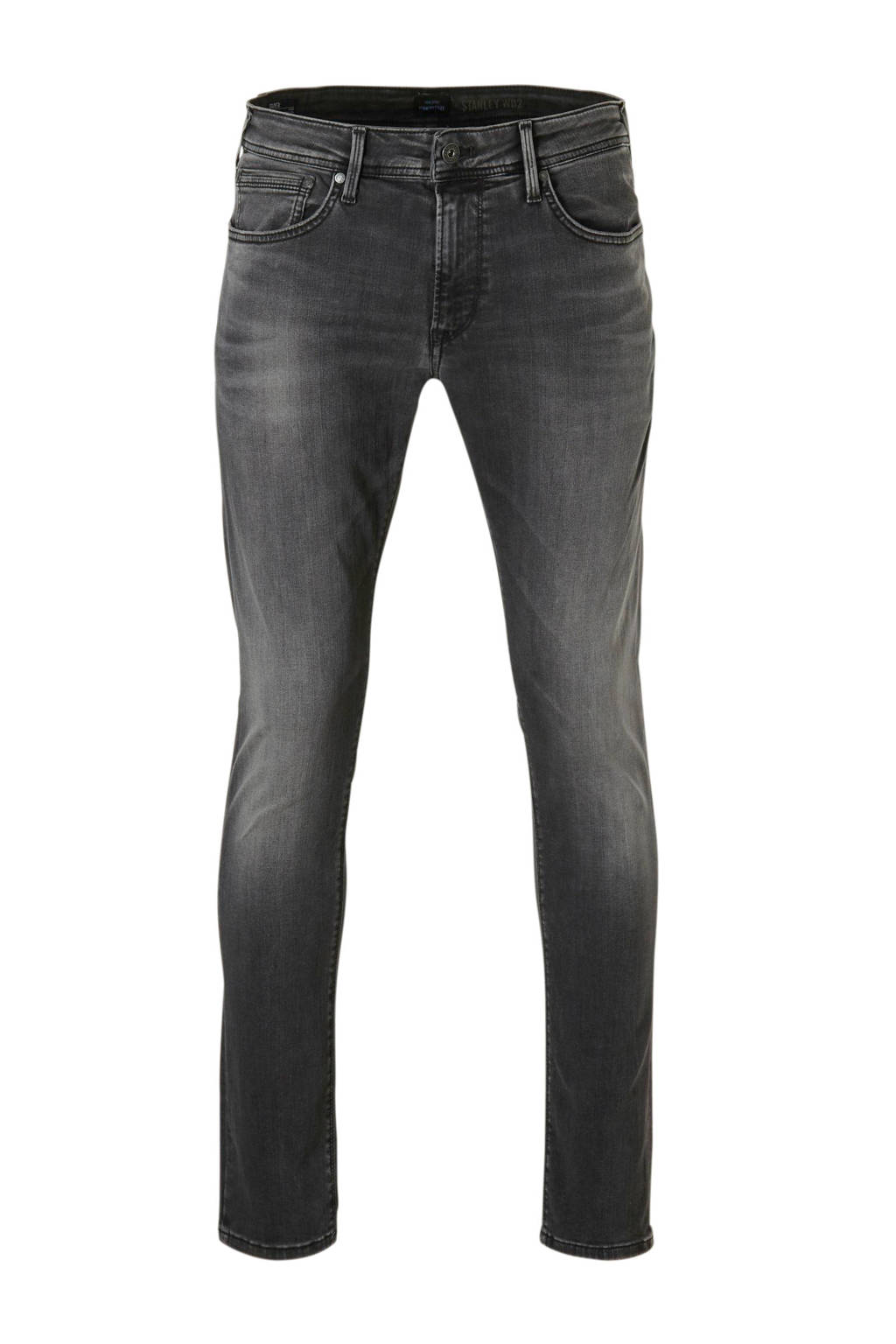 Pepe Jeans tapered fit jeans, Donkergrijs