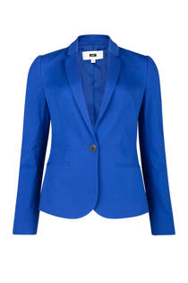 WE Fashion jersey blazer konungsblauw (dames)