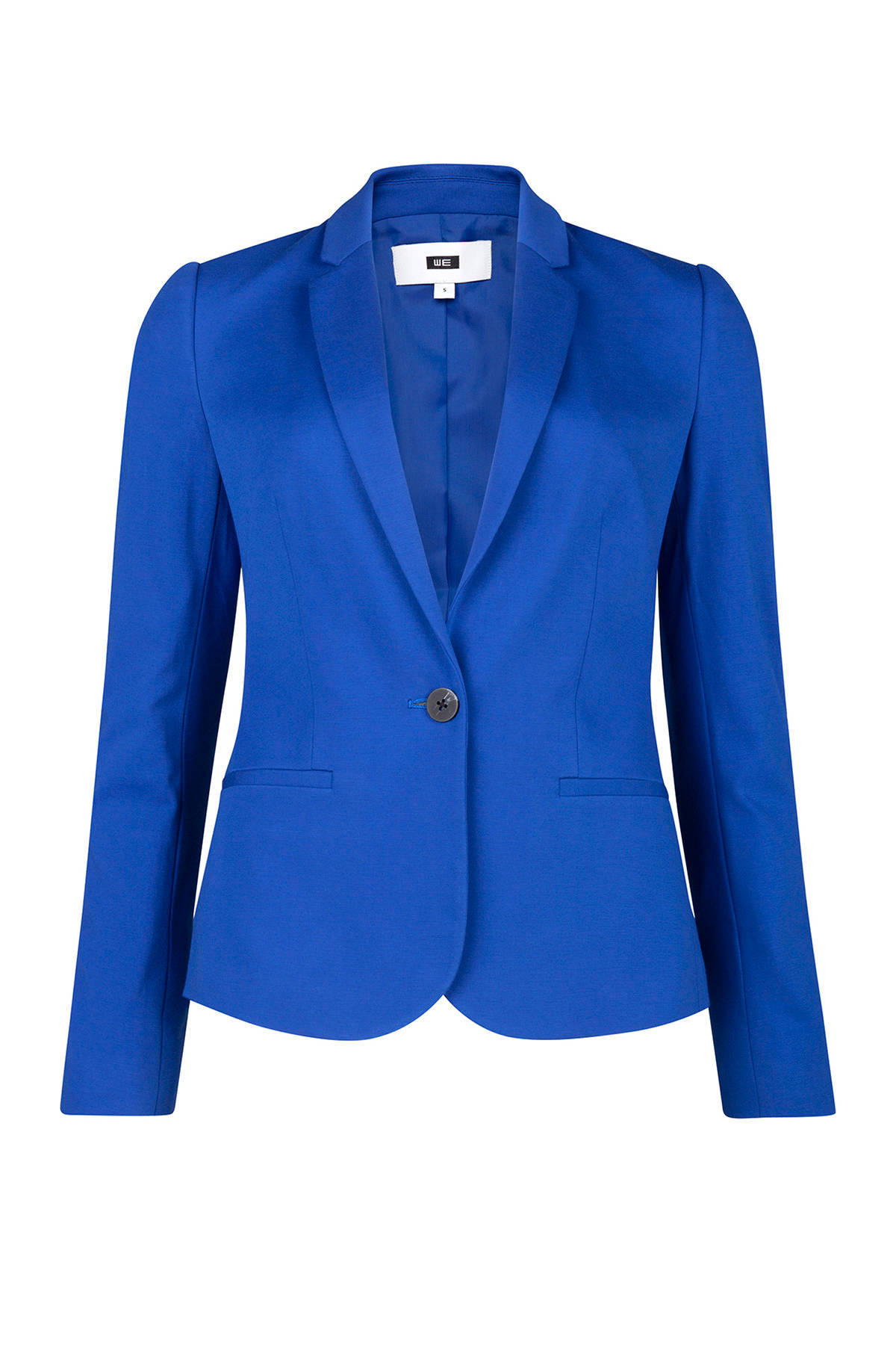 WE Fashion jersey blazer konungsblauw | wehkamp