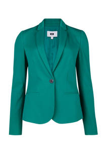 WE Fashion jersey blazer groen (dames)