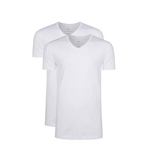 WE Fashion Fundamental T-shirt white uni