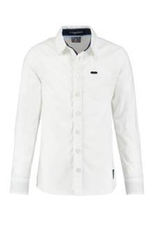 slim fit overhemd Olav wit