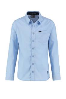 slim fit overhemd Olav lichtblauw