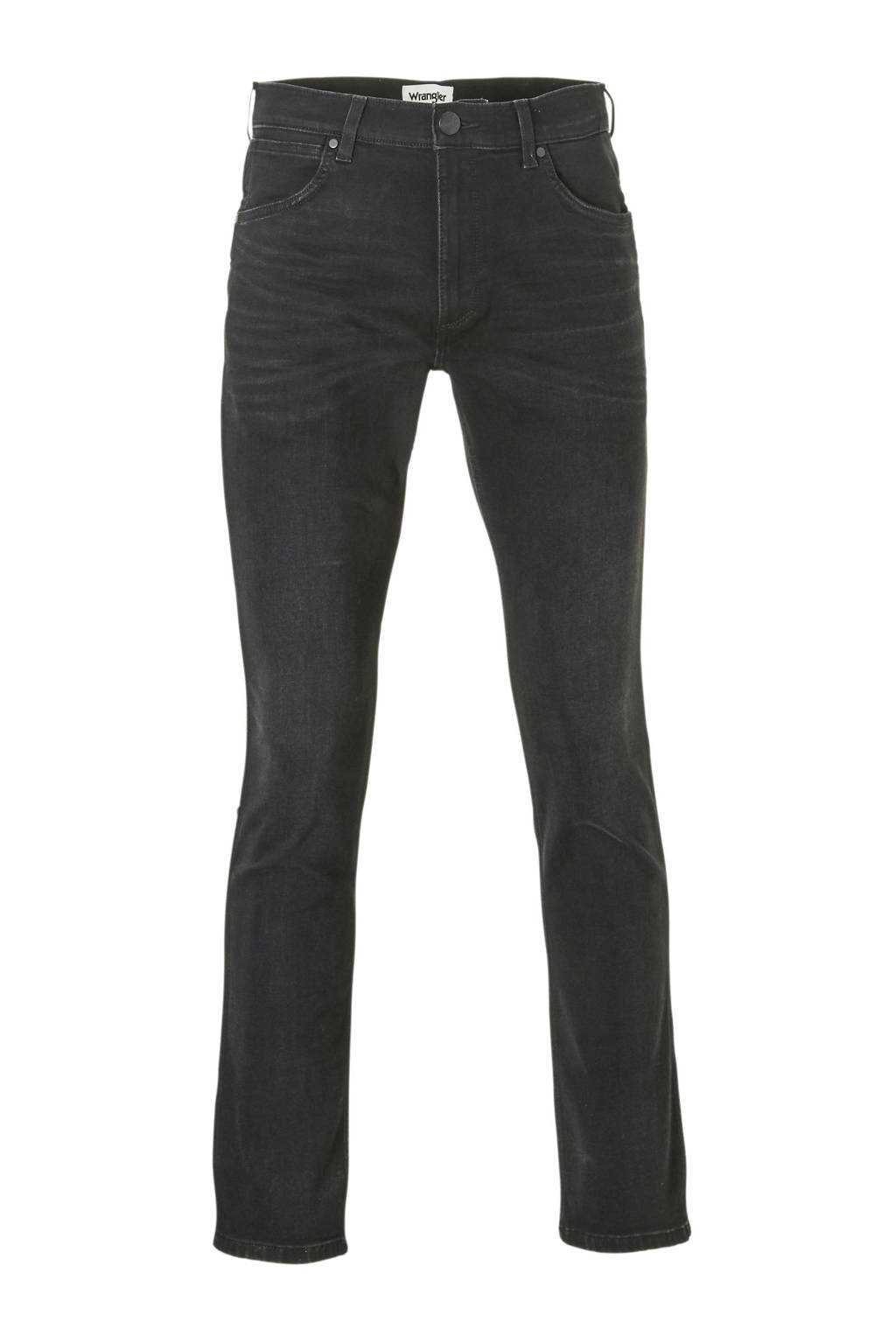 Wrangler straight fit jeans Greensboro, One Eyed Black