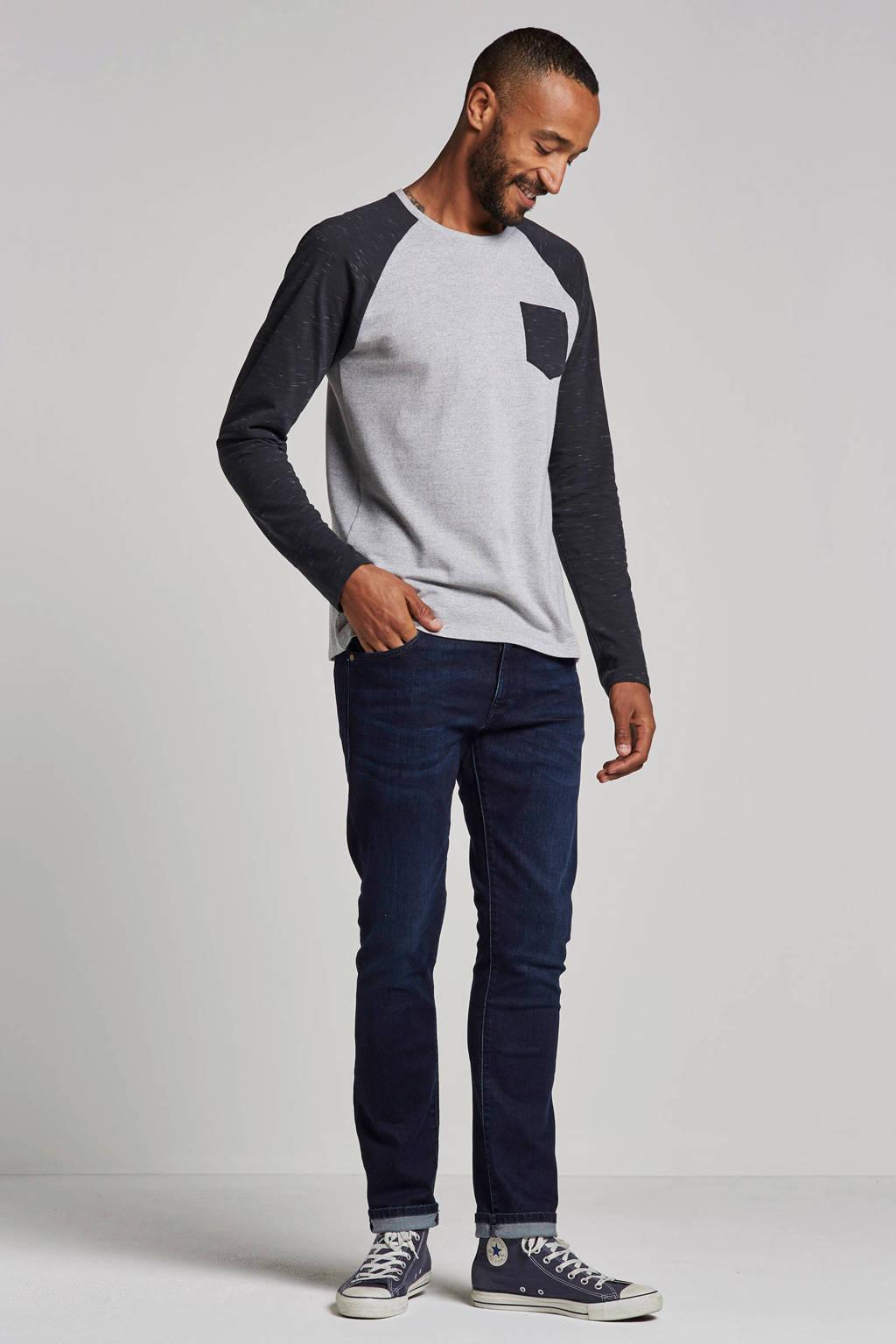 Wrangler slim fit jeans Larston, Dark denim