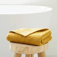 wehkamp home handdoek hotelkwaliteit (50 x 100 cm) Okergeel