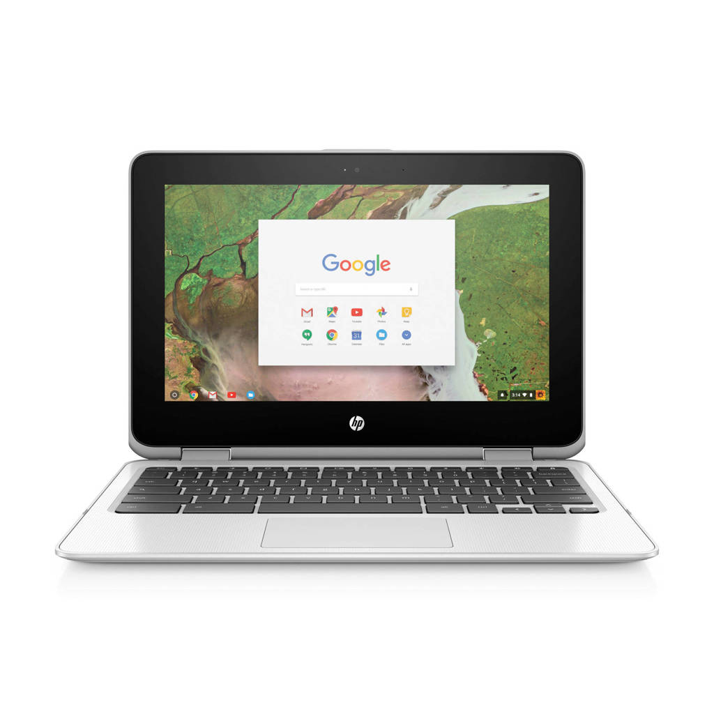 HP Chromebook x360 11-ae021nd 11,6 inch Chromebook, Wit